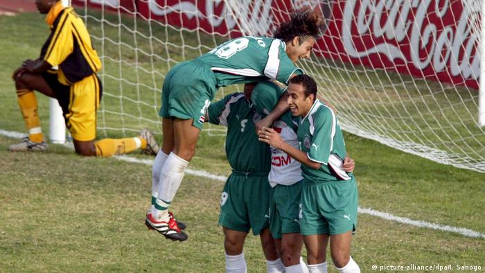 Afrika-Cup Fußball: Ägypten - Sambia 2:1 2002 (picture-alliance/dpa/I. Sanogo)