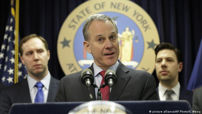 USA Eric Schneiderman (picture alliance/AP Photo/S. Wenig)
