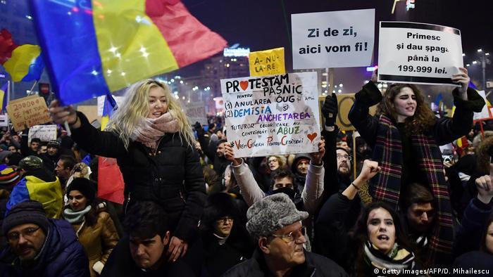 Румунські протестувальники добилися свого