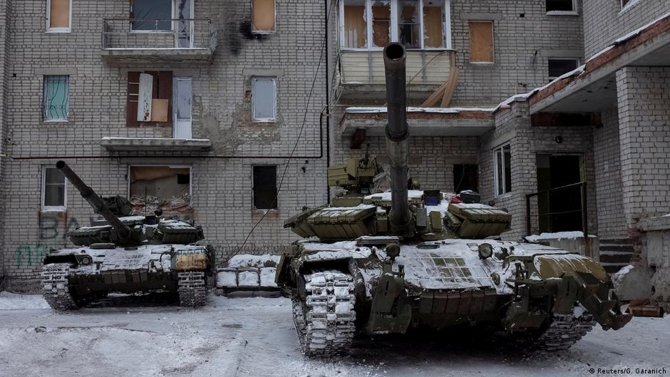Artillery fire shakes eastern Ukraine as Russia accuses Kyiv of escalation