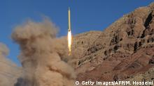 Iran Raketentest (Getty Images/AFP/M. Hosseini)
