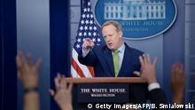 USA PK Sean Spicer Pressesprecher des Weißen Hauses