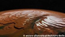Weltall Neue Bilder vom Mars zeigen eisige Spirale