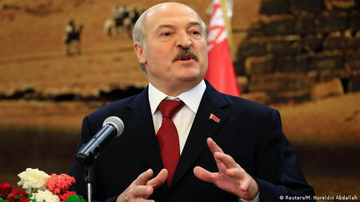 Sudan Alexander Lukaschenko in Khartoum (Reuters/M. Nureldin Abdallah)