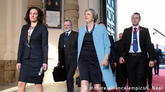 EU Gipfel auf Malta Theresa May