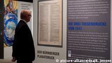 Deutschland Ausstellung Bibel-Thesen-Propaganda in der Staatsbibliothek zu Berlin