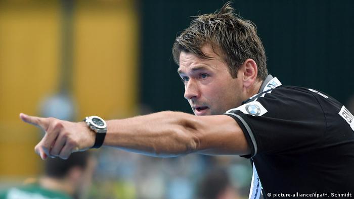 Christian Prokop, Handball Bundesliga Trainer Arena Leipzig