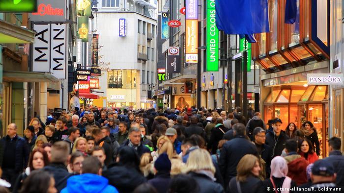 Deutschland Verkaufsoffener Sonntag in Köln