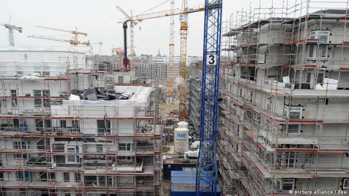 Deutschland Wohnungsbau in Hamburg