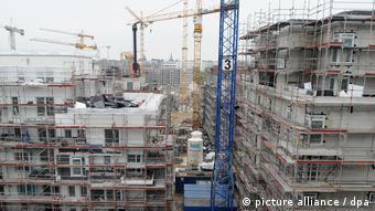 Строительство жилого комплекса в Гамбурге