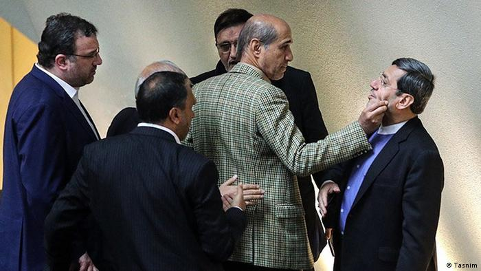 Iran Belästigung (Tasnim)