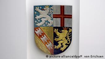 Герб Саара - самой маленькой из 16 федеральных земель Германии