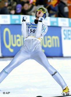 O esquiador alemão é o favorito do torneio