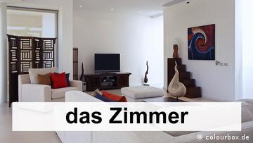 Vocabulary – Living arrangements (1) | So wohne ich | DW Learn German