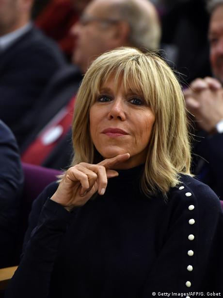 Frankreich Brigitte Trogneux, Gattin von Emmanuel Macron (Getty Images/AFP/G. Gobet)