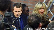 Frankreich Brigitte Trogneux, Gattin von Emmanuel Macron