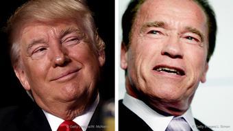 Donald Trump y Arnold Schwarzenegger.