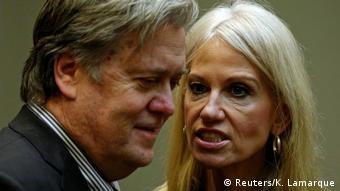 USA Weißes Haus Stephen Bannon Kellyanne Conway (Reuters/K. Lamarque)