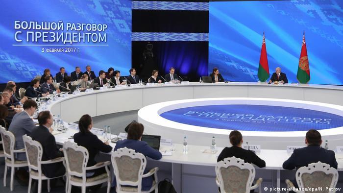 Лукашенко на встрече с журналистами
