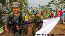 Kolumbien Gallo, FARC Demobilisierung (Getty Images/AFP/J. Colorado)