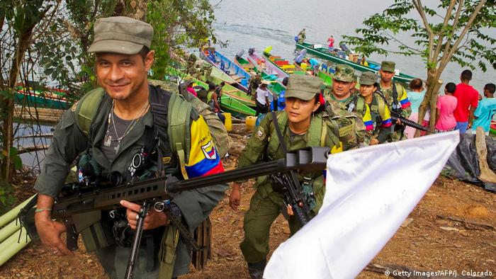 Kolumbien Gallo, FARC Demobilisierung (Getty Images/AFP/J. Colorado)