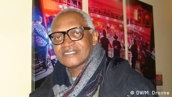 Writer Enoh Meyomesse (Photo: DW/M. Dronne)
