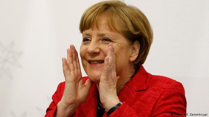 Malta EU Gipfel Angela Merkel (Reuters/D. Zammit-Lupi)