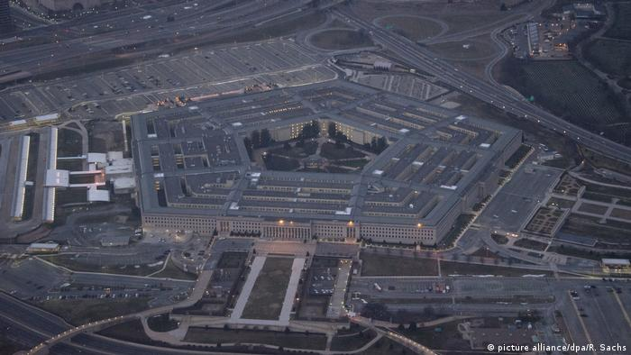 USA Pentagon Washington - Luftaufnahme (picture alliance/dpa/R. Sachs)
