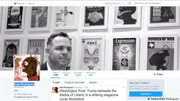 Screenshot Twitter - Edel Rodriguez