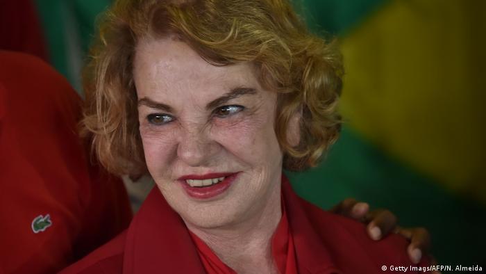 A photo of Marisa Leticia Lula da Silva, Brazilain ex-president Lula's wife.