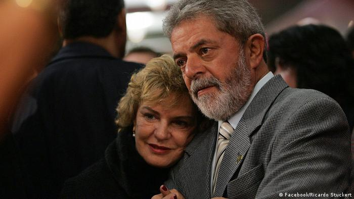Brasilien Lula da Silva mit Ehefrau Marisa Leticia (Facebook/Ricardo Stuckert)