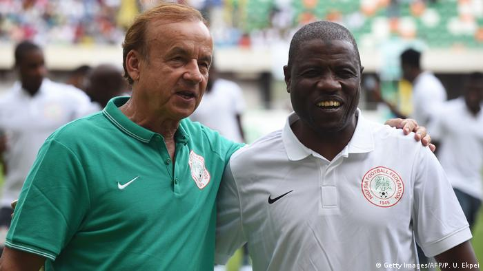 Fussball African Cup 2017 - Nigeria - Nationaltrainer Gernot Rohr (Getty Images/AFP/P. U. Ekpei)