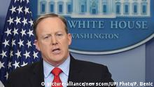 USA Weißes Haus - Sean Spicer
