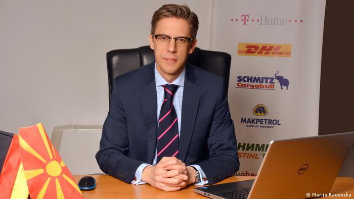 Patrick Martens, Mazedonien, DMWV Delegierter der Deutschen Wirtschaft