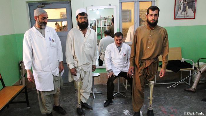 Afghanistan ICRC Orthopädie (DW/S. Tanha)