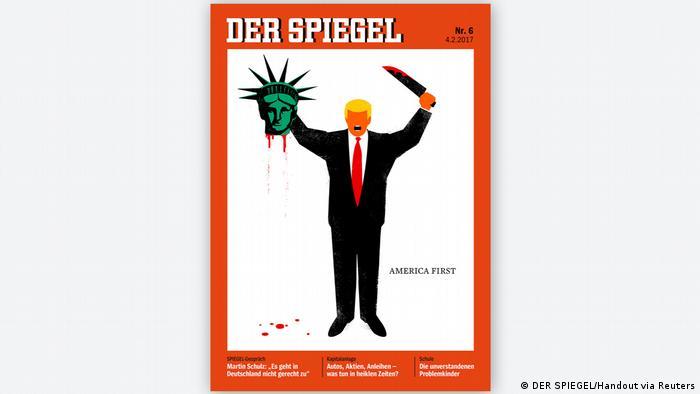 Capa da Der Spiegel causou polêmica