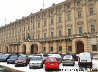 Здание МИДа в Чехии