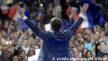 4.2.2017*** ©PHOTOPQR/OUEST FRANCE ; Emmanuel Macron tient ce samedi 4 février, au palais des Sports de Gerland, son meeting de lancement de campagne présidentielle devant plus de 8000 personnes PHOTO : Marc Ollivier Feb 4, 2017FRENCH PRESIDENTIAL CANDIDATE MACRON IS HOLDING A MAJOR RALLY IN LYON |