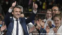 Frankreich Macron will verstärkten Kampf gegen Terror