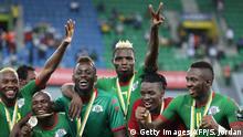 Africa Cup Burkina Faso Jubel Platz Drei