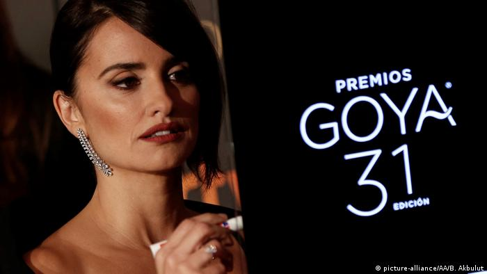 Goya Awards Penelope Cruz (picture-alliance/AA/B. Akbulut)