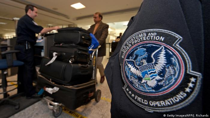 USA Einreise CBP Beamte (Getty Images/AFP/J. Richards)