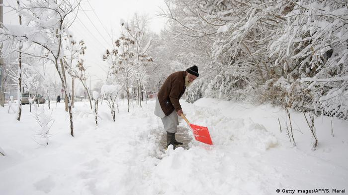 Afghanistan Starke Schneefälle