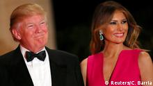 USA Präsident Donald Trump und First Lady Melania | 60th Annual Red Cross Gala