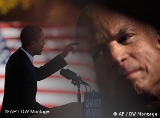 US presidential candidates John McCain and Barack Obama