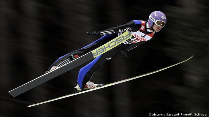 Deutschland Skispringen in Oerstdorf Andreas Wellinger (picture-alliance/AP Photo/M. Schrader)