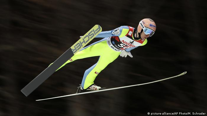 Deutschland Skispringen in Oerstdorf Stefan Kraft (picture-alliance/AP Photo/M. Schrader)