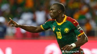 African Cup of Nations Ägypten gegen Kamerun   Sieg Kamerun