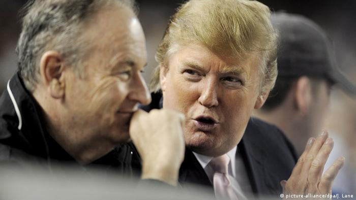 USA Donald Trump und Bill O'Reilly ARCHIV (picture-alliance/dpa/J. Lane)