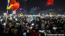 Rumänien Bukarest Massenproteste